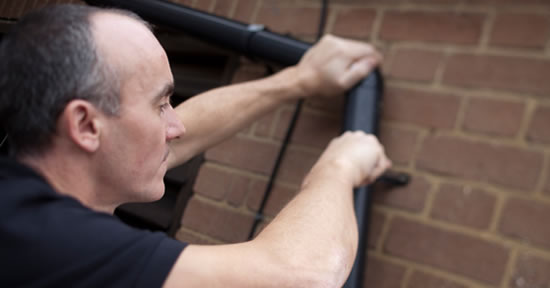 Gutter cleaning and guttering